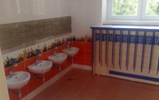 Školní koupelna