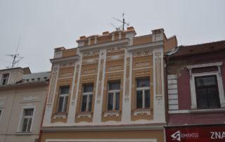 Zeď budovy